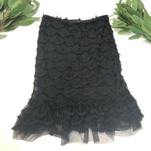 Betsey Johnson || Black Fridge Skirt